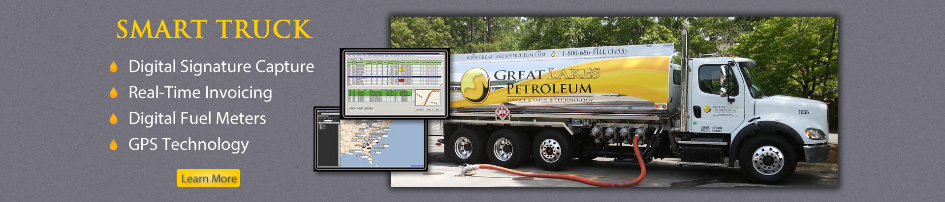 Smart Truck Fuel Delivery